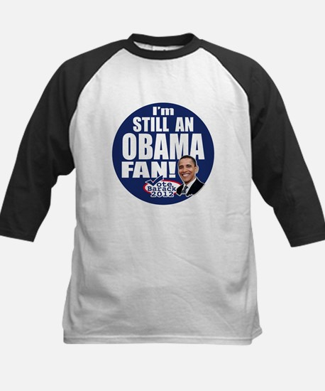 Obama Fan 2012 Kids Baseball Jersey