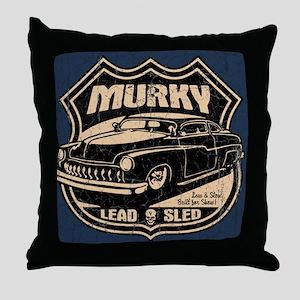 Murky Throw Pillow