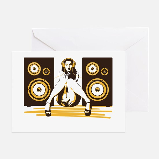 Music Please Greeting Card