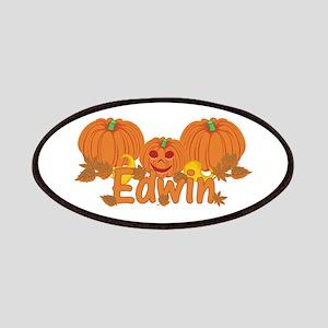Halloween Pumpkin Edwin Patches