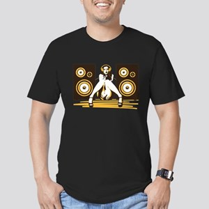 Music Please Men's Fitted T-Shirt (dark)