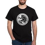 Laune Crest White Dark T-Shirt