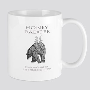 HELL BADGER Mug
