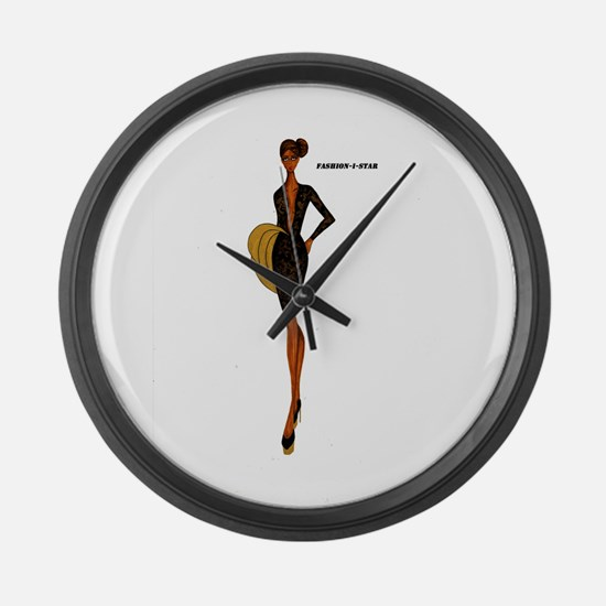 Fashion-i-Star Large Wall Clock