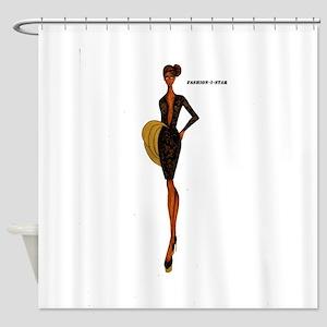 Fashion-i-Star Shower Curtain