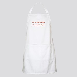 Engineers know how it works Apron