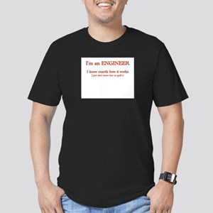Engineers know how it works Men's Fitted T-Shirt (