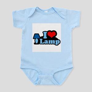 I heart lamp -  Infant Creeper