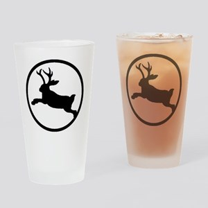Jackalope Drinking Glass
