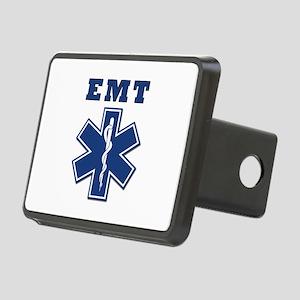 EMT Blue Star Of Life* Rectangular Hitch Cover
