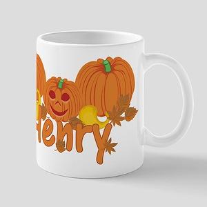 Halloween Pumpkin Henry Mug