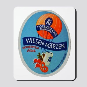 Germany Beer Label 2 Mousepad