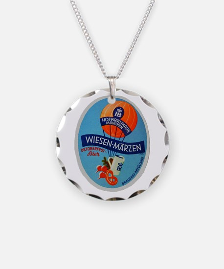 Germany Beer Label 2 Necklace