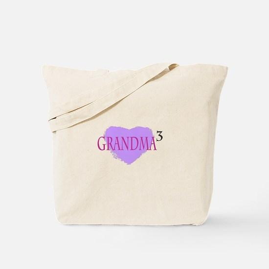 Grandma to the Third Power Tote Bag