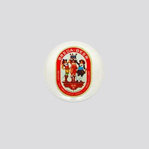 Holland Beer Label 7 Mini Button