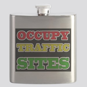 OCCUPY TRAFFIC SITES Flask