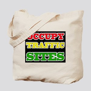 OCCUPY TRAFFIC SITES Tote Bag