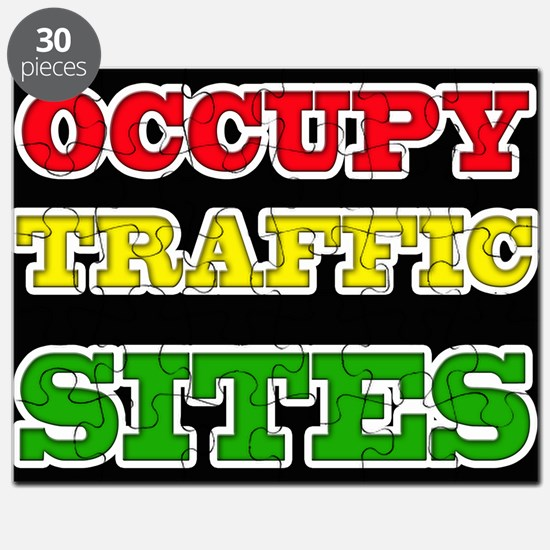 OCCUPY TRAFFIC SITES Puzzle