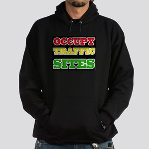 OCCUPY TRAFFIC SITES Hoodie (dark)