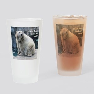 Rizzo makes me smile Drinking Glass