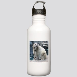 Rizzo makes me smile Stainless Water Bottle 1.0L