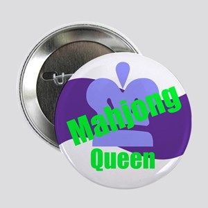 "Mahjong Queen 2.25"" Button"
