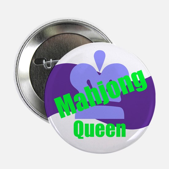 "Mahjong Queen 2.25"" Button"