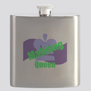 Mahjong Queen Flask