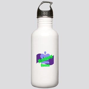Mahjong Queen Stainless Water Bottle 1.0L