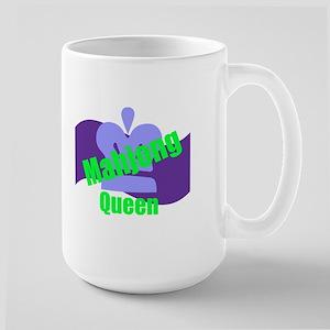 Mahjong Queen Large Mug