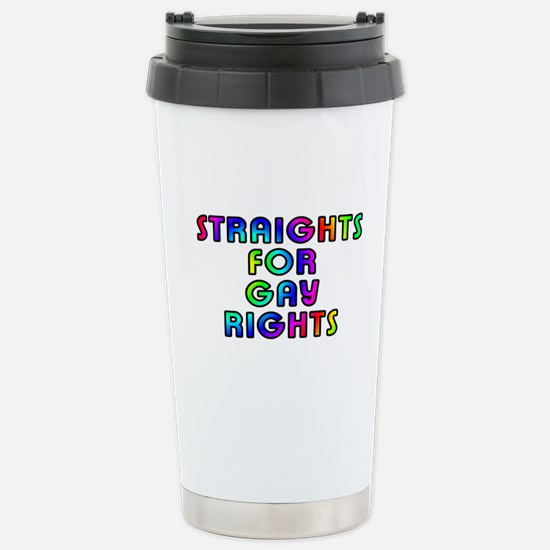 Straights for gay rights - Stainless Steel Travel