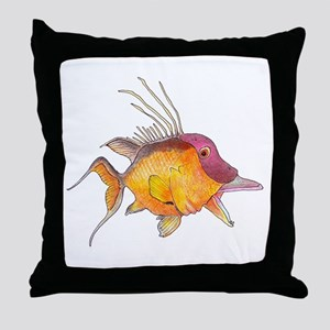 Hogfish Throw Pillow
