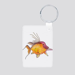 Hogfish Aluminum Photo Keychain