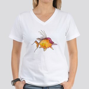 Hogfish Women's V-Neck T-Shirt
