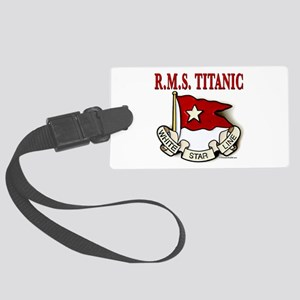 White Star Line: RMS Titanic Large Luggage Tag