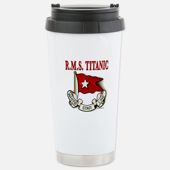 White Star Line: RMS Titanic Stainless Steel Trave