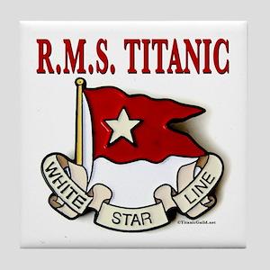 White Star Line: RMS Titanic Tile Coaster
