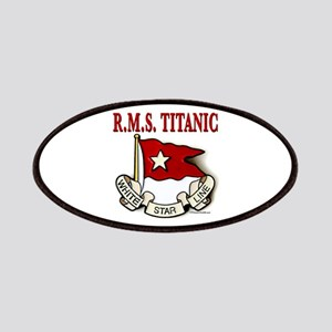 White Star Line: RMS Titanic Patches