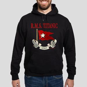 White Star Line: RMS Titanic Hoodie (dark)