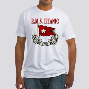 White Star Line: RMS Titanic Fitted T-Shirt