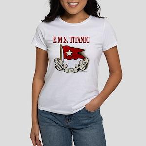 White Star Line: RMS Titanic Women's T-Shirt