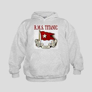White Star Line: RMS Titanic Kids Hoodie