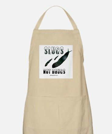 Slugs not drugs -  BBQ Apron