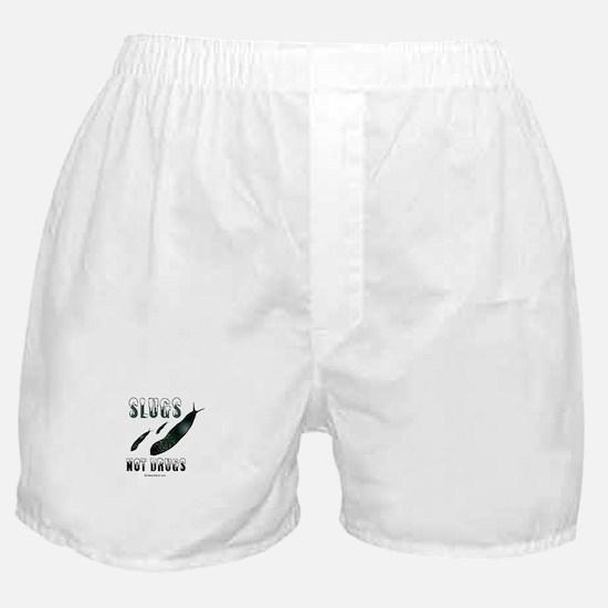 Slugs not drugs -  Boxer Shorts