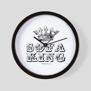 Sofa King -  Wall Clock