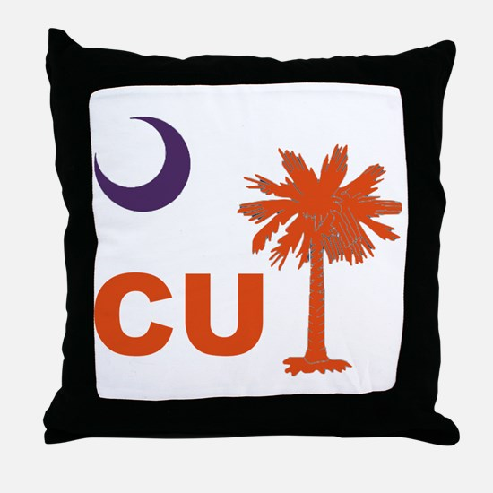 Unique Clemson tigers Throw Pillow