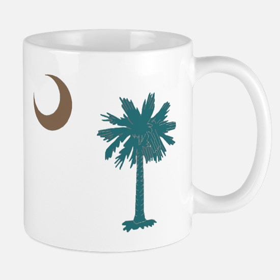 Cute Palmetto moon Mug