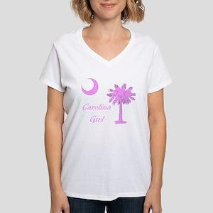 Carolina Girl Women's V-Neck T-Shirt