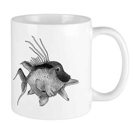 Black and White Hogfish Mug