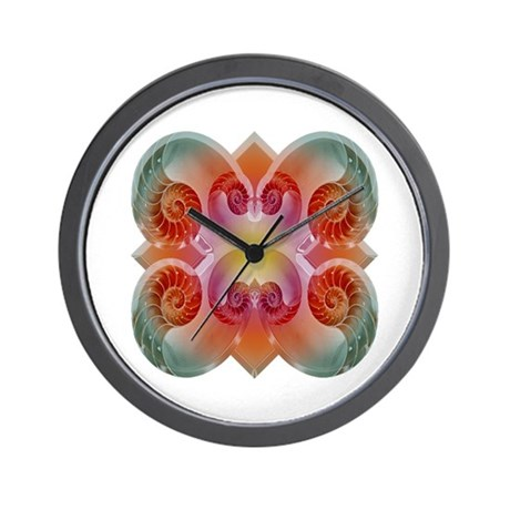Nautilus Fantasy Wall Clock